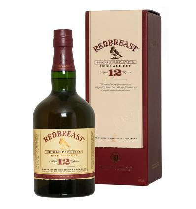 Redbreast Single Pot Still Irish Whiskey 12 YO 40,0%vol 0,7L
