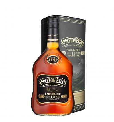 Appleton Estate Rare Blend 12Y Jamaica Rum 43,0%vol 0,7L